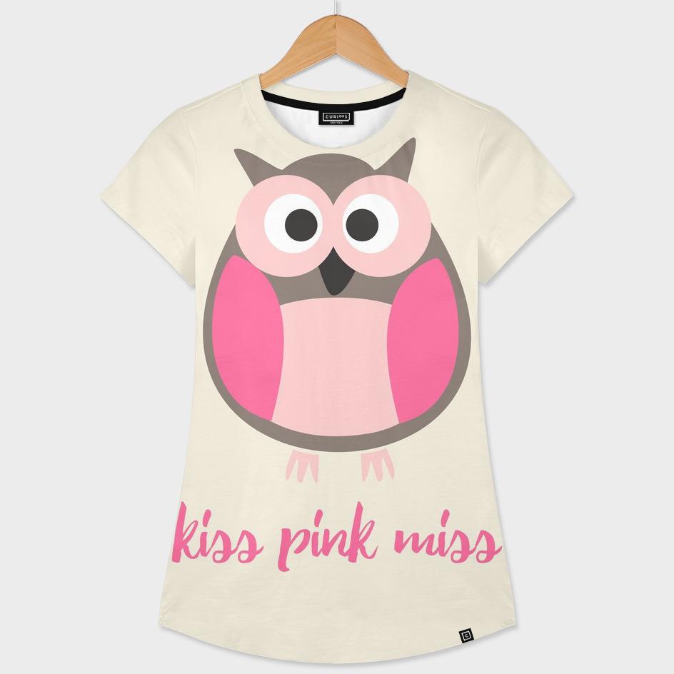 Kiss pink miss owl