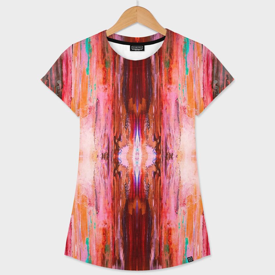 Abstract Blush Pattern