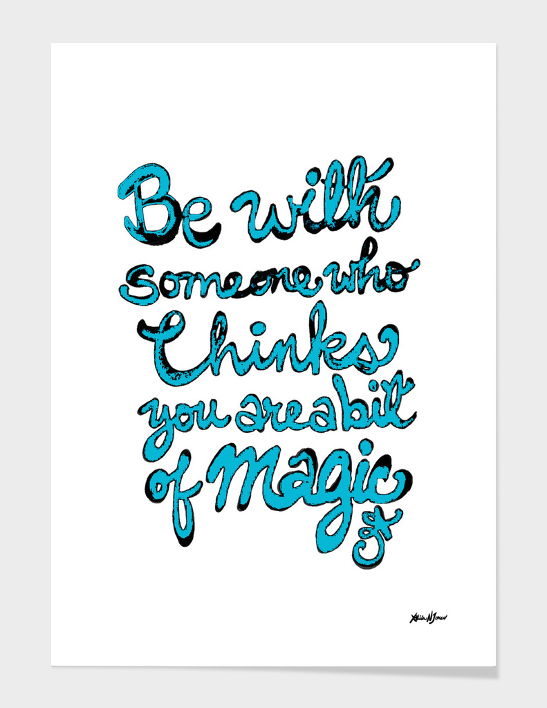 Be with Someone teal