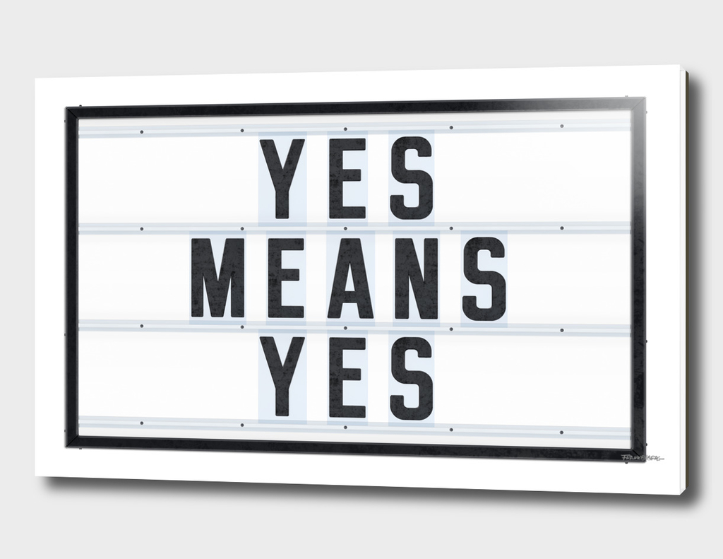 Yes means Yes - California law to protect all students