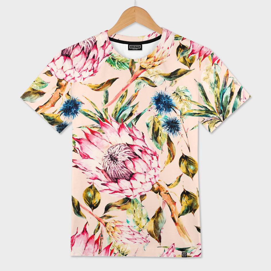 Pattern boho floral