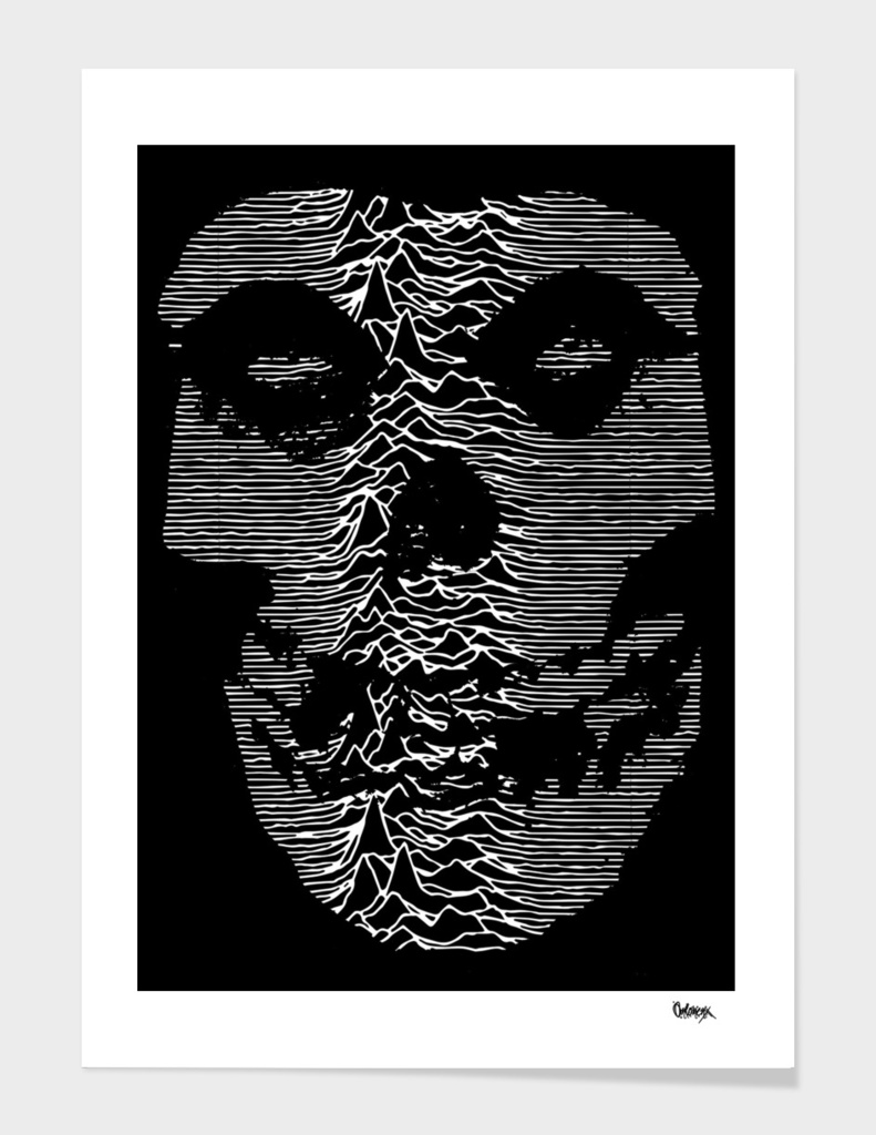 "The Misfits X Joy Division ""Unknown Pleasures"""