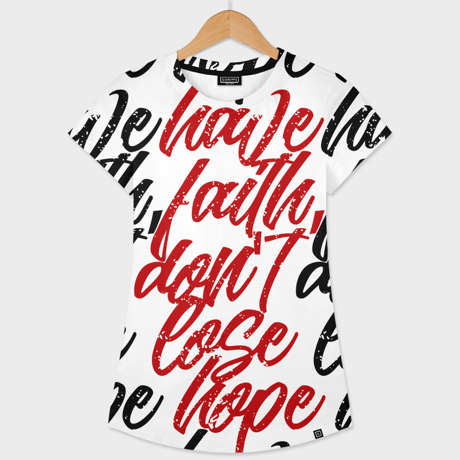 have faith dont lose hope (black)