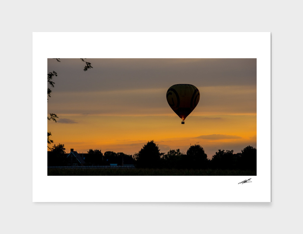 Hot Air Balloon over Holland