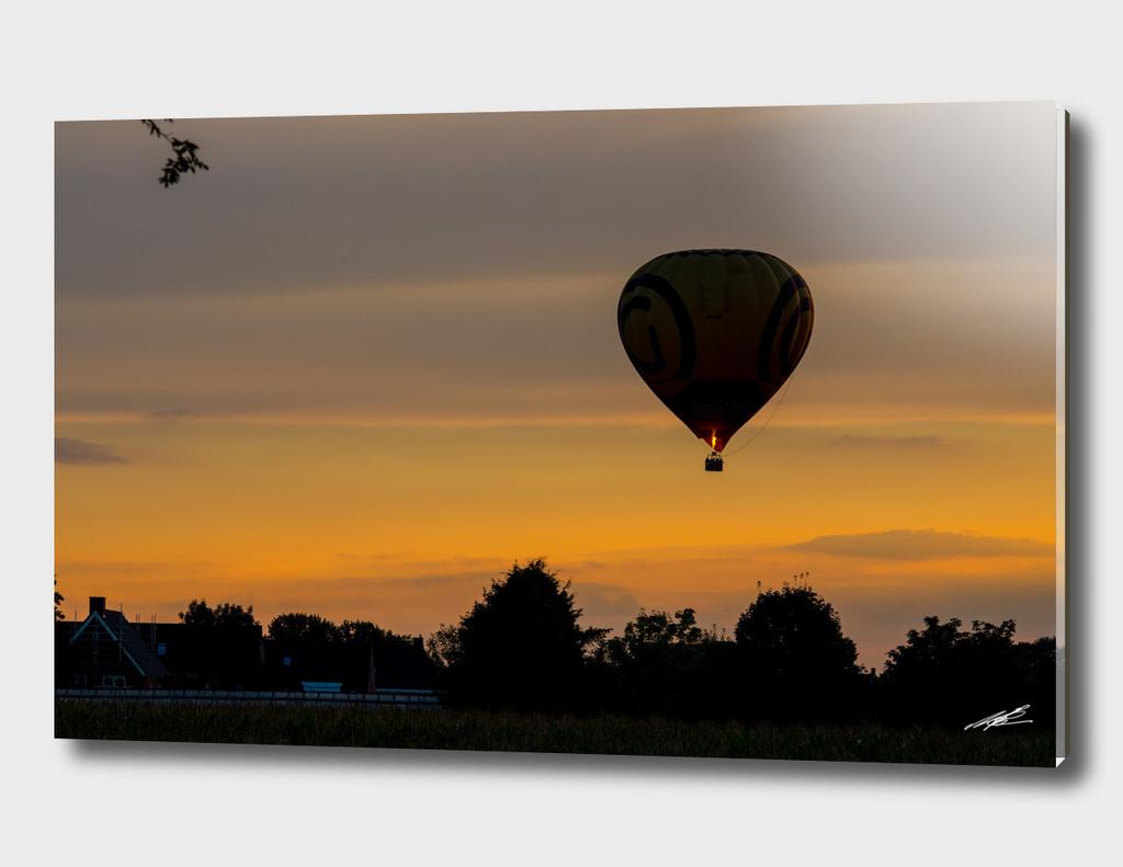 Hot Air Balloon over Holland