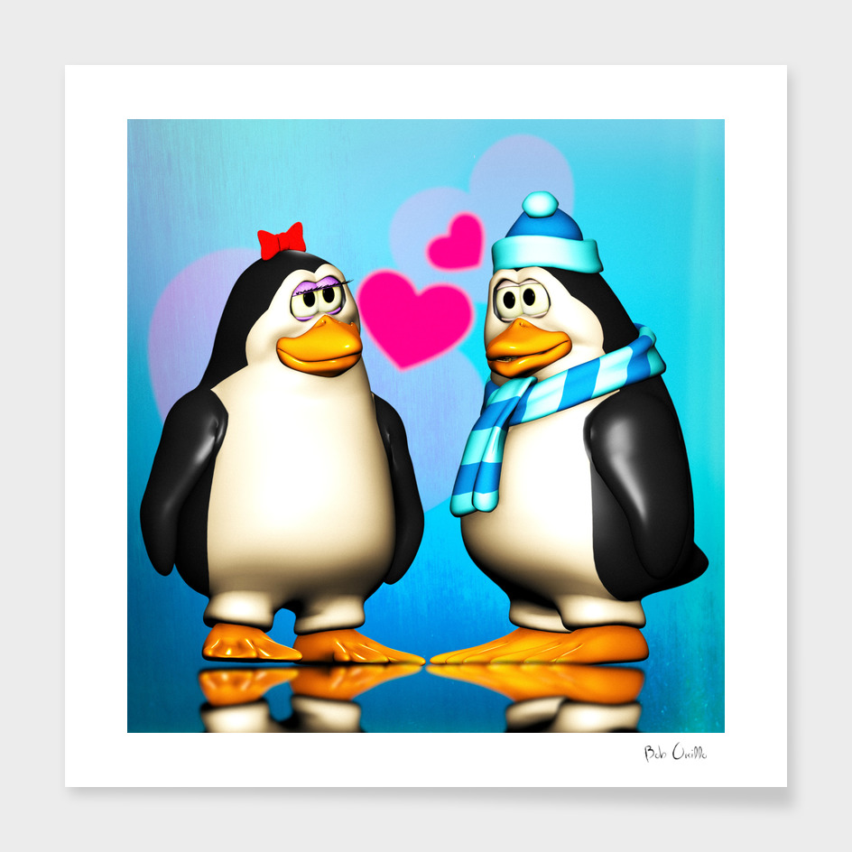 Penguin Says I love You