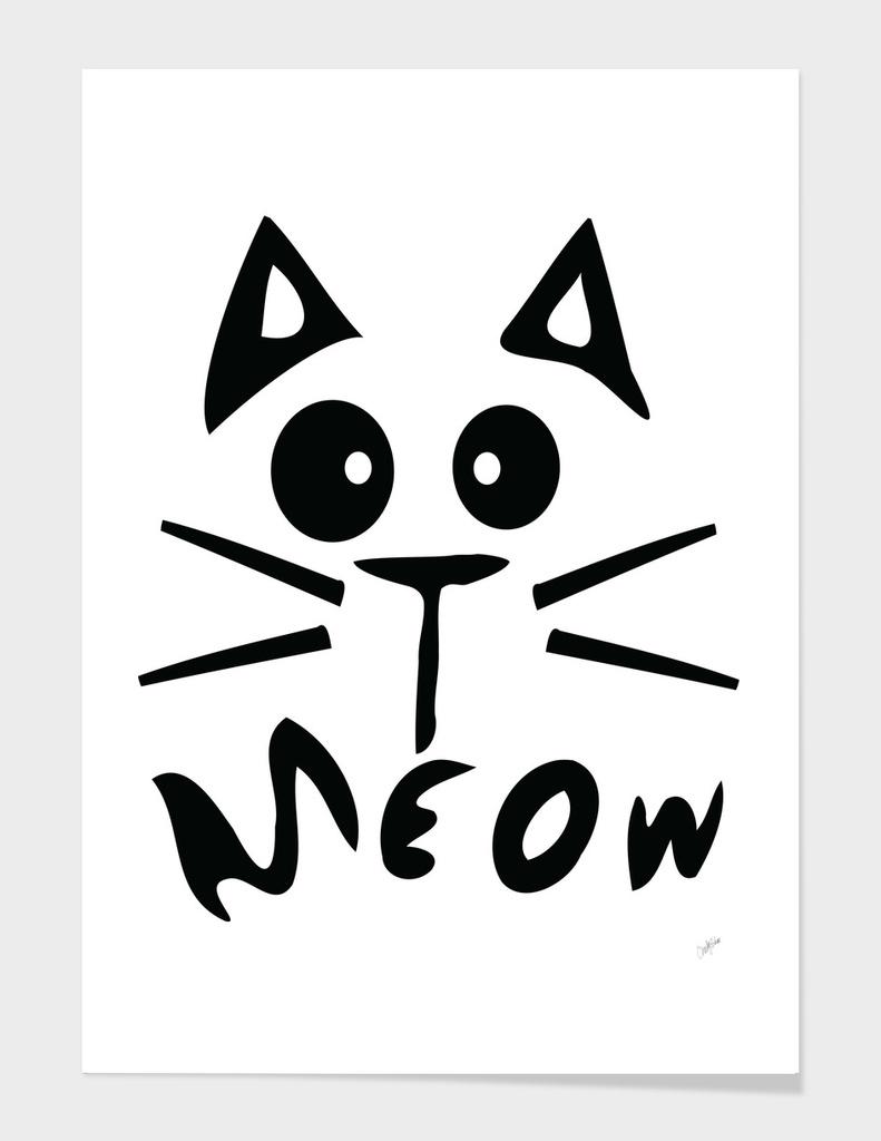 Meow kitty cat