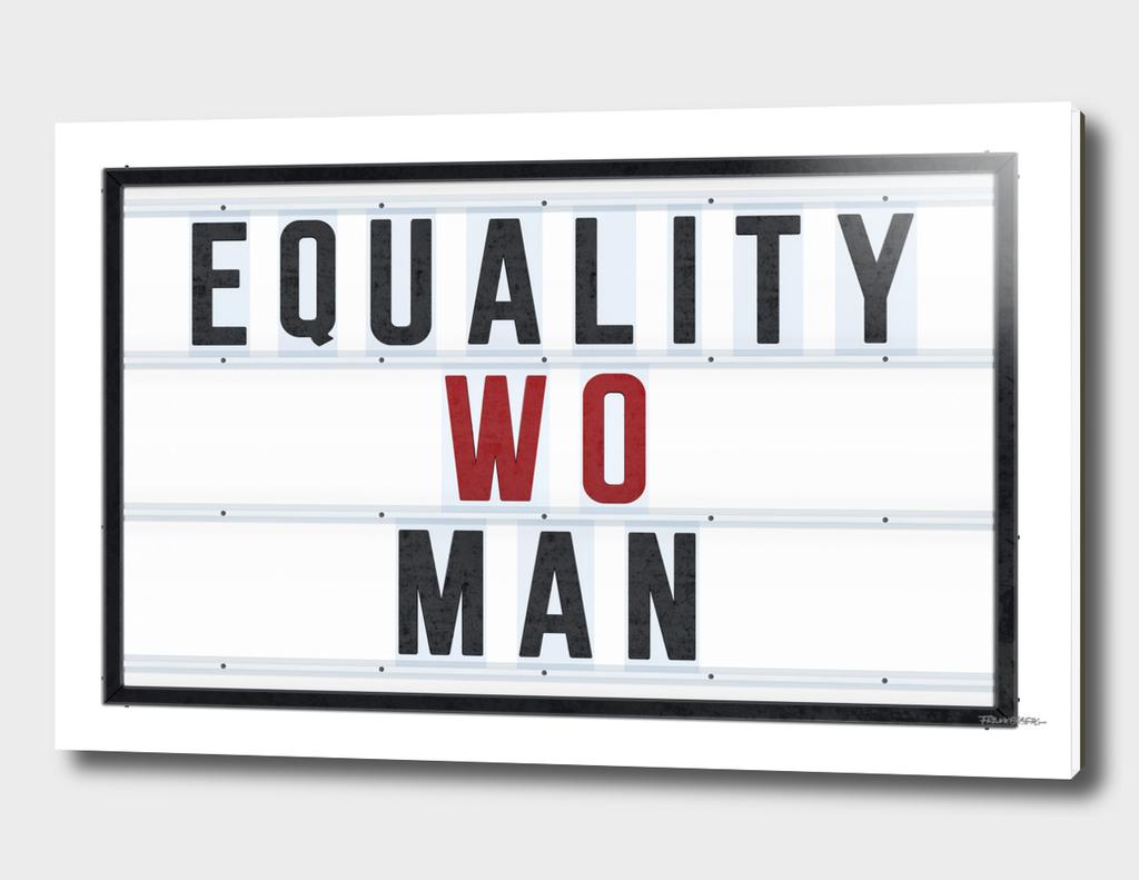 Equality Wo Man