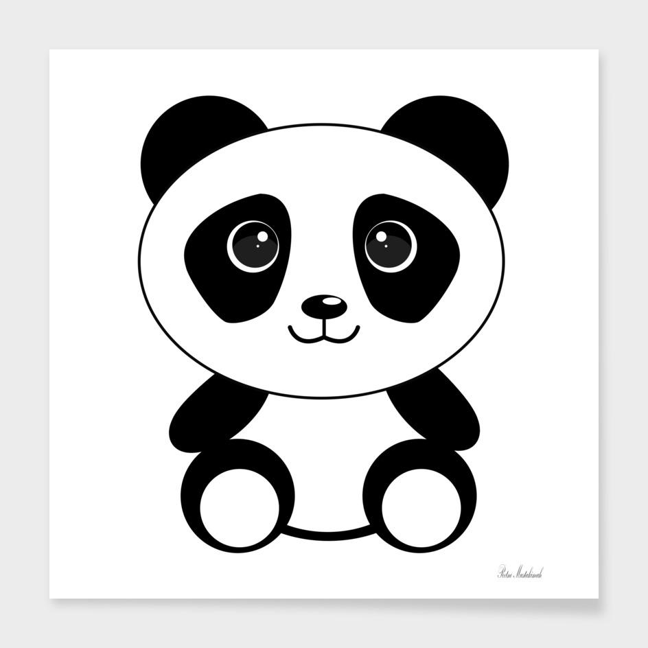 Bear panda animals