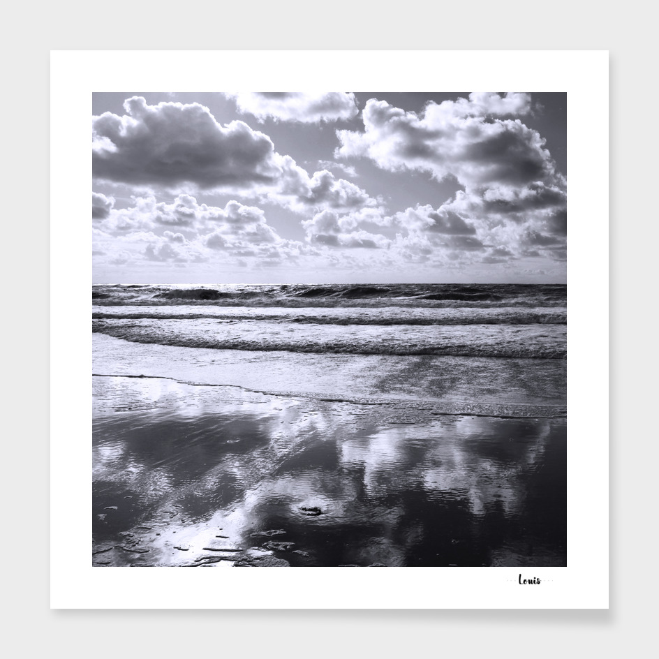 Sylt Mono - clouds