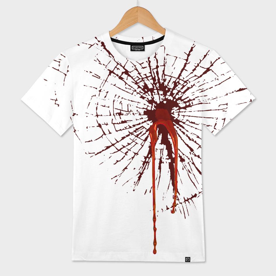 Heart Break (transparent background on t-shirt)