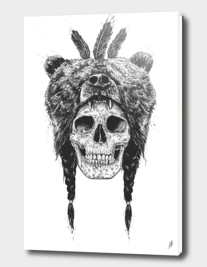 Dead shaman (B&W)