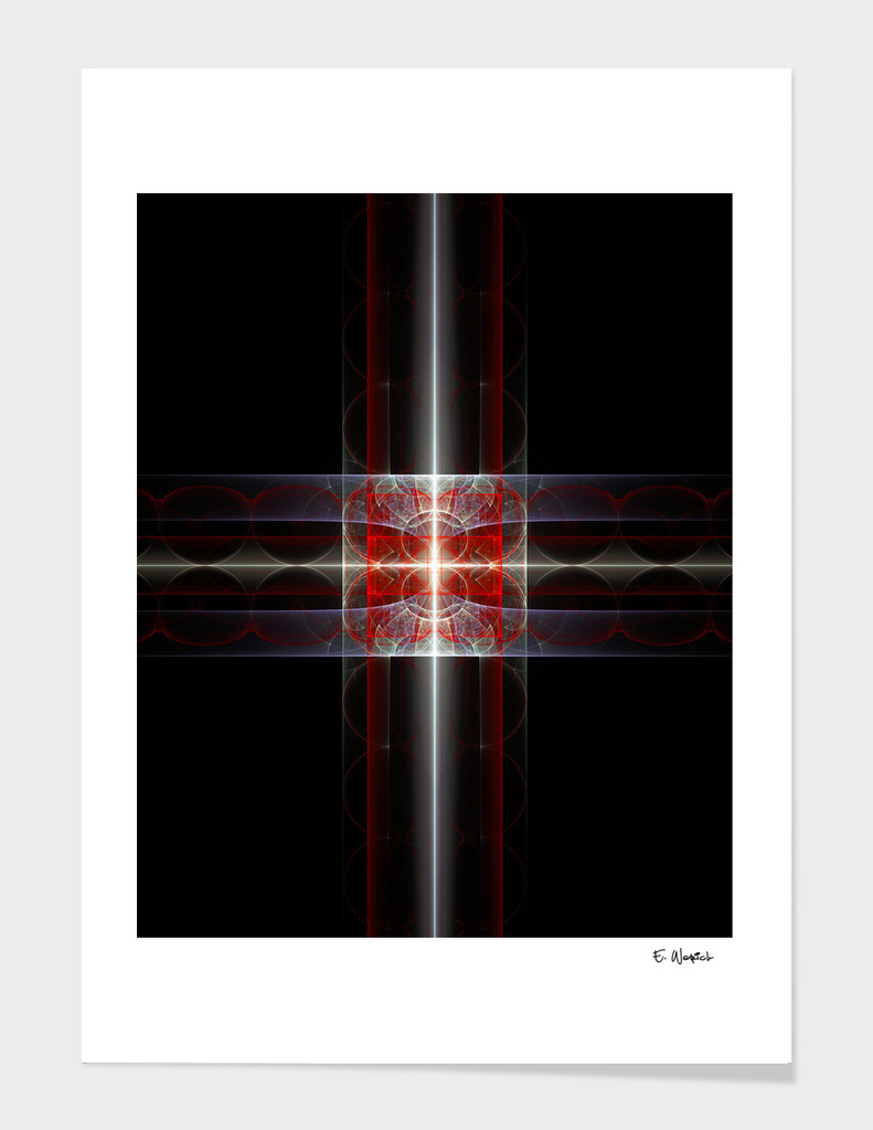 The Prism Fine art abstract print