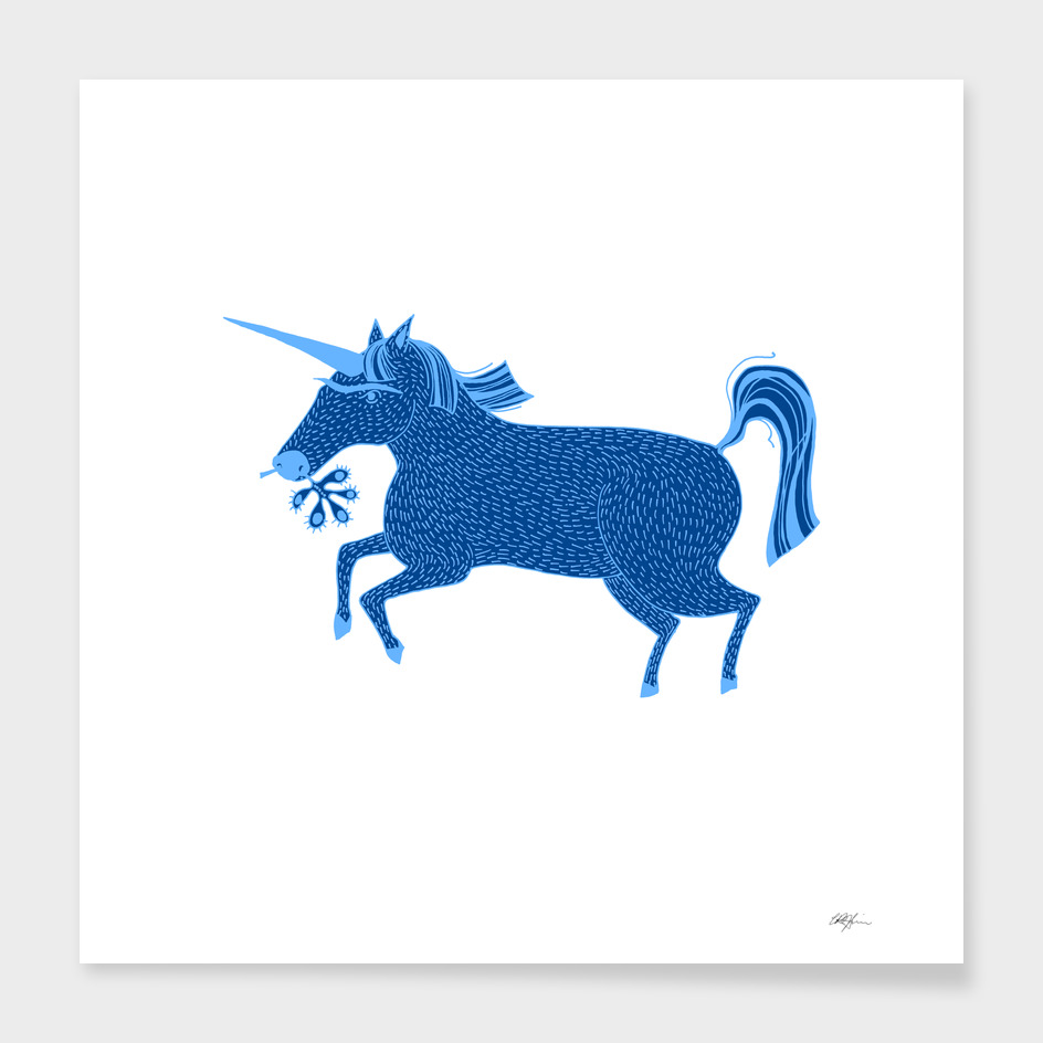 Blue Unicorn
