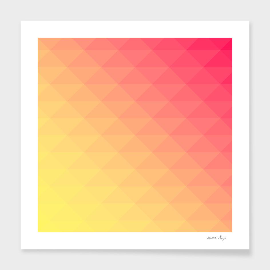 yellow pink pattern