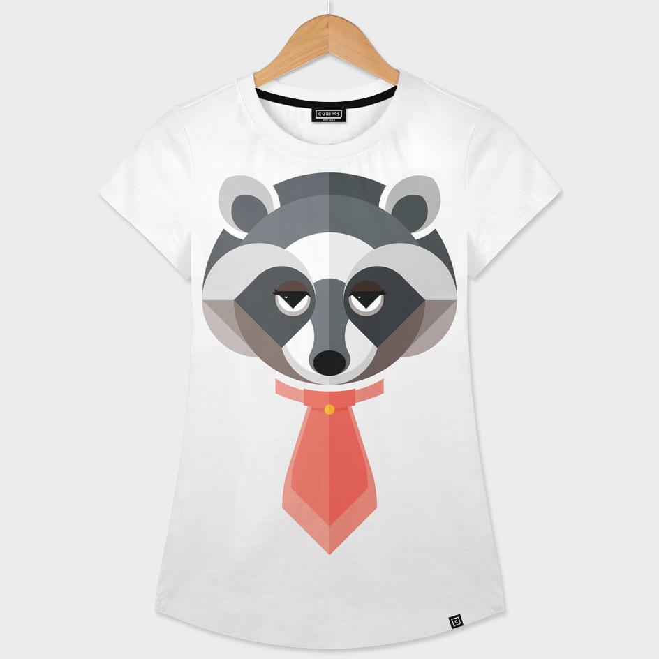 Raccoon Illustration