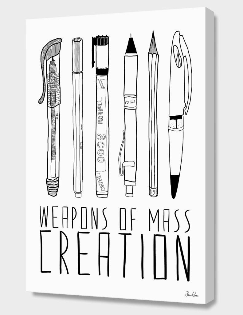 WEAPONS OF MASS CREATION