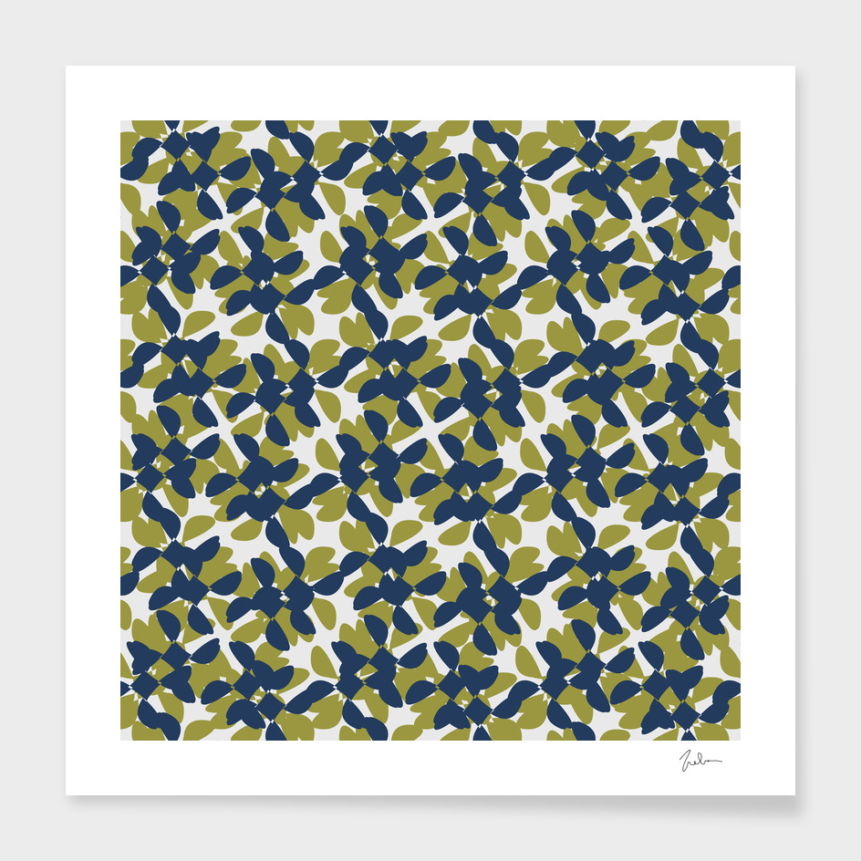 odrina (lime/navy)