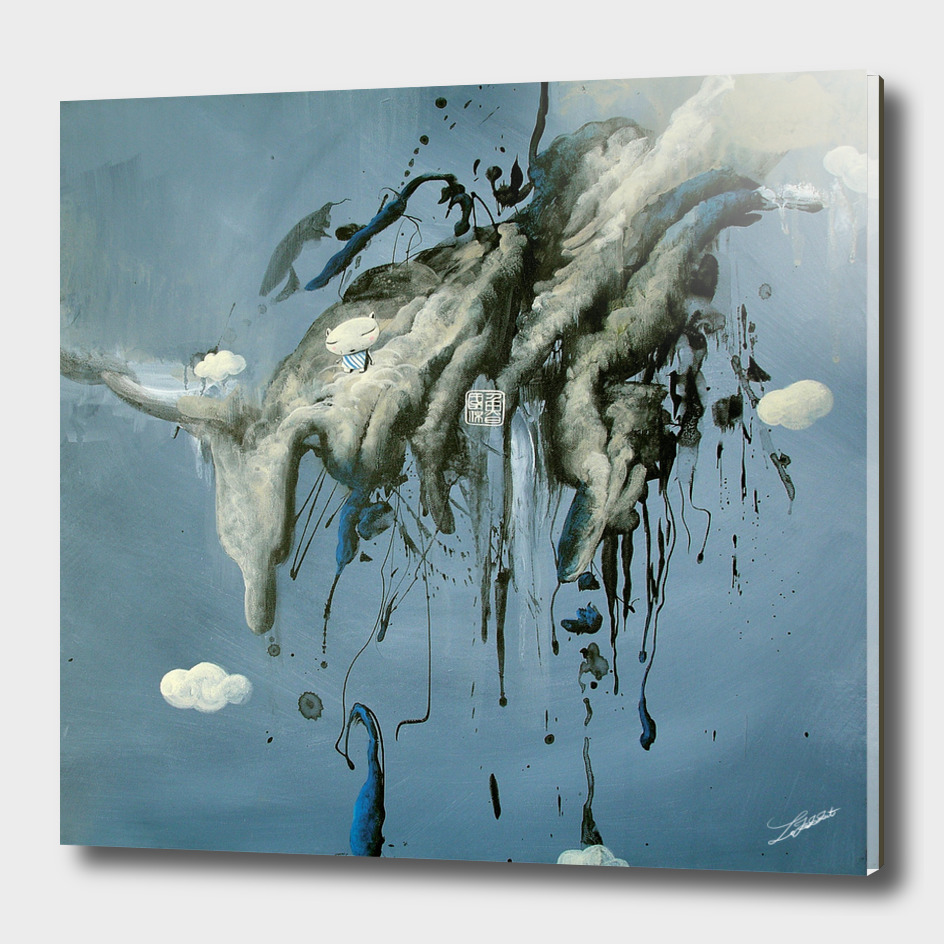Cat inThe Cloud_Curioos