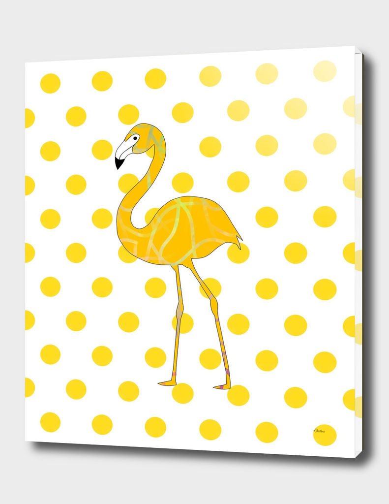 Yellow Flamingo