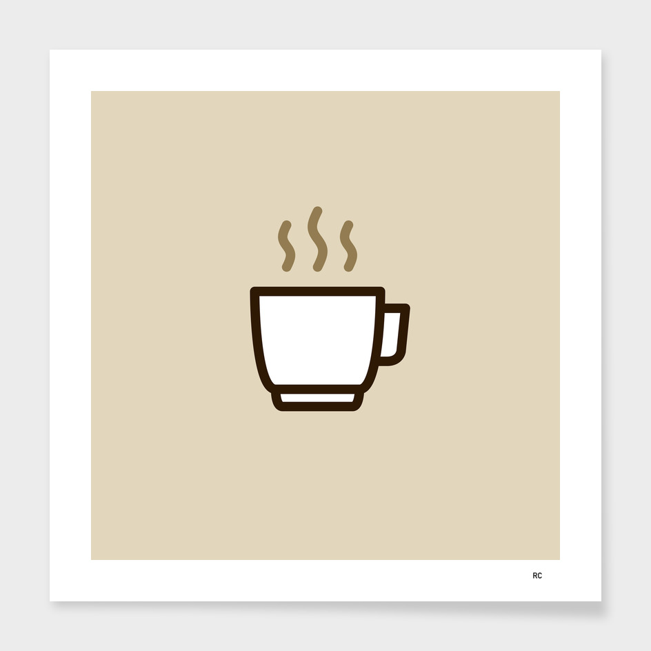 Coffee - Icon Prints: Drinks Series