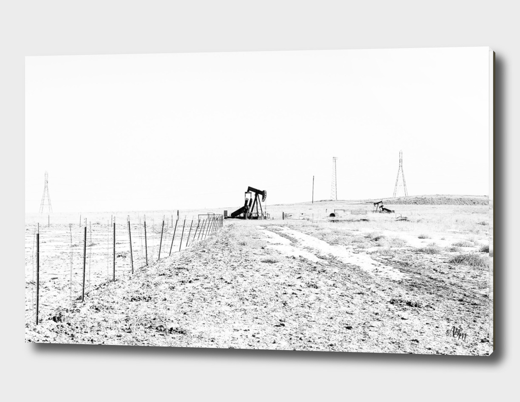 Oil Pump on Open Plains