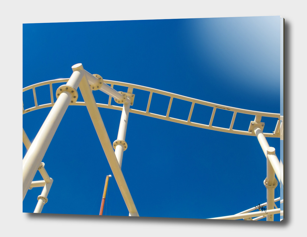 Roller Coaster Abstract