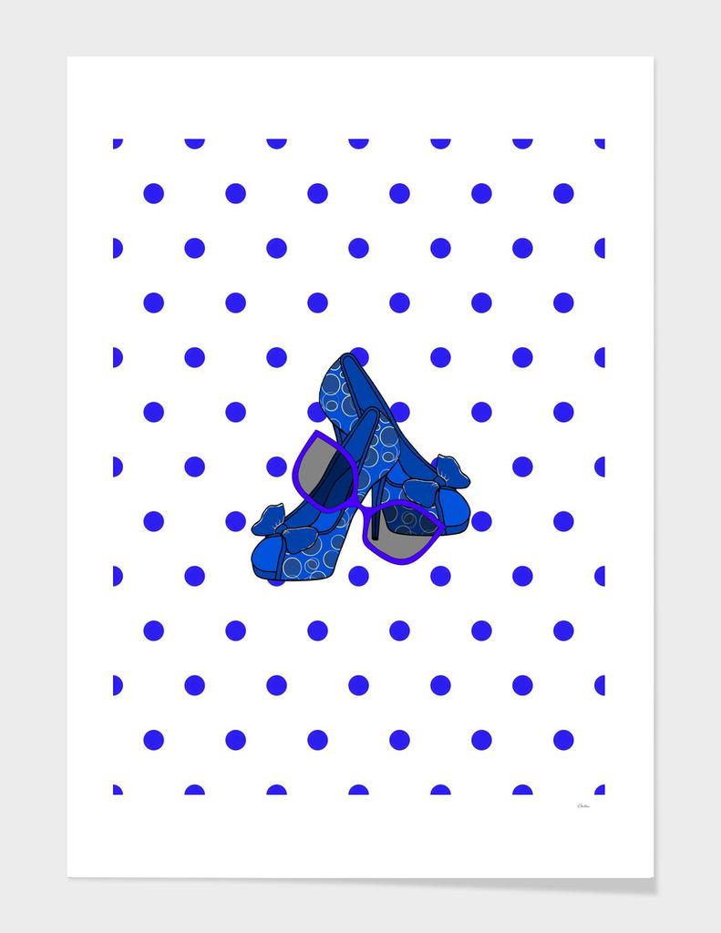 Fashion On Blue