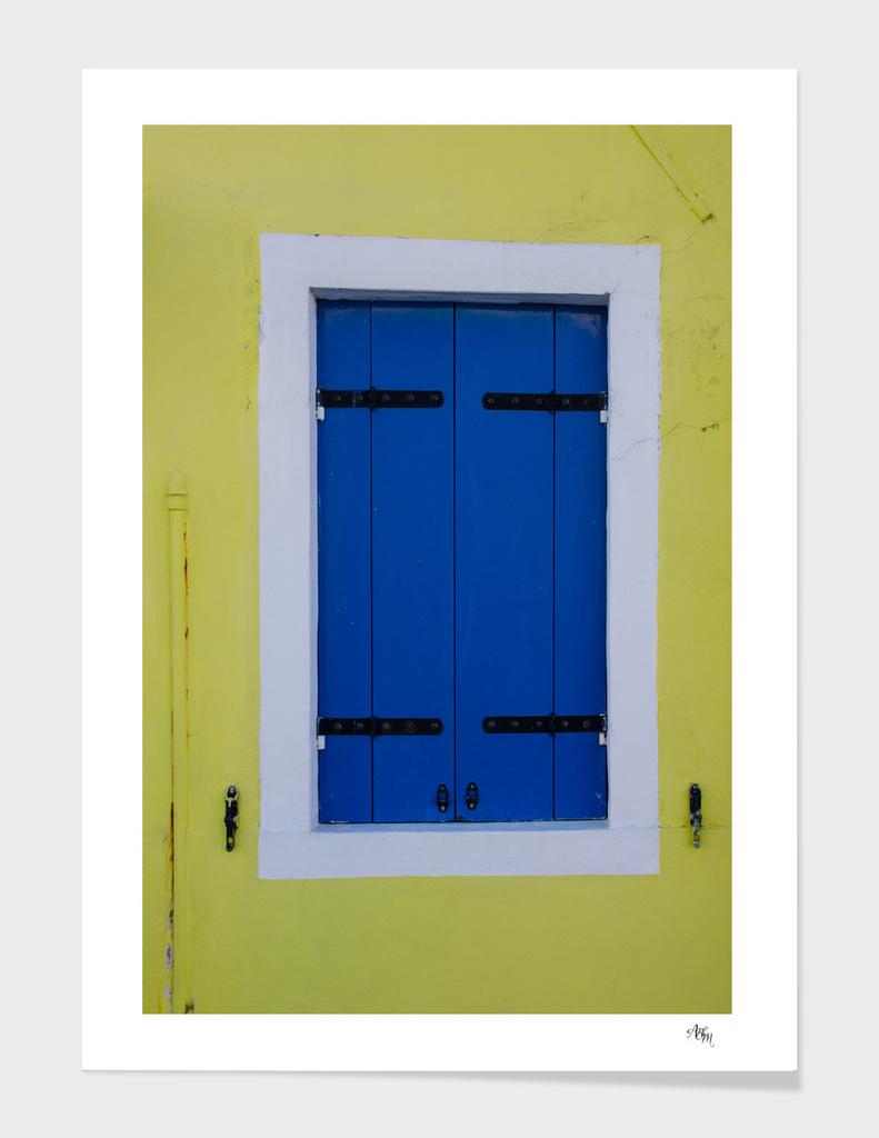Burano, Italy Blue Door