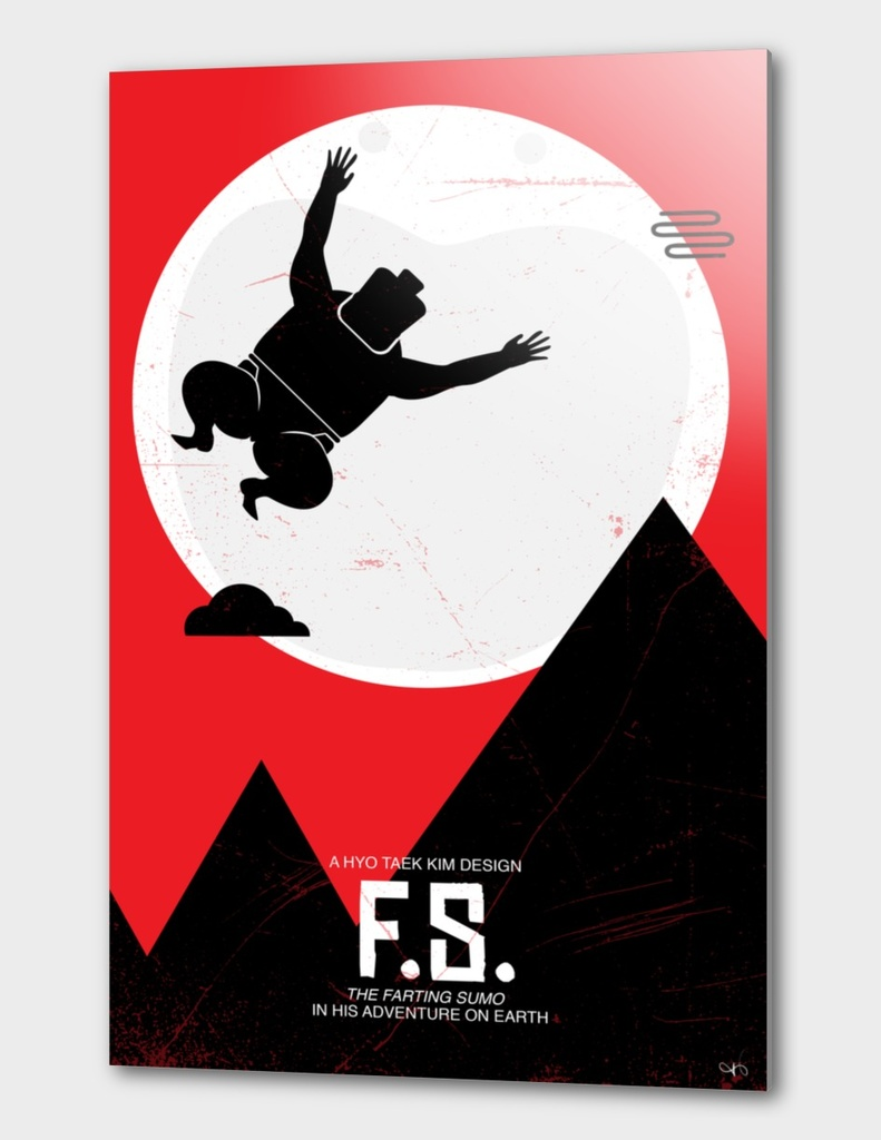 Flying Sumo - ET poster