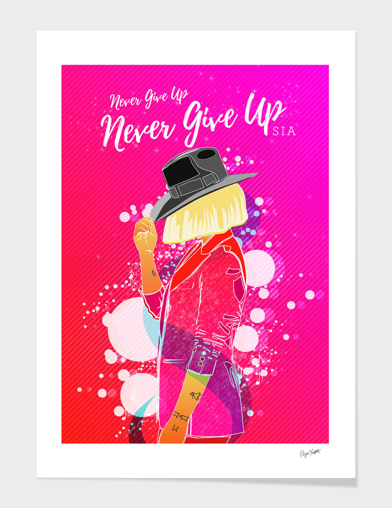 'Never Give Up' Sia