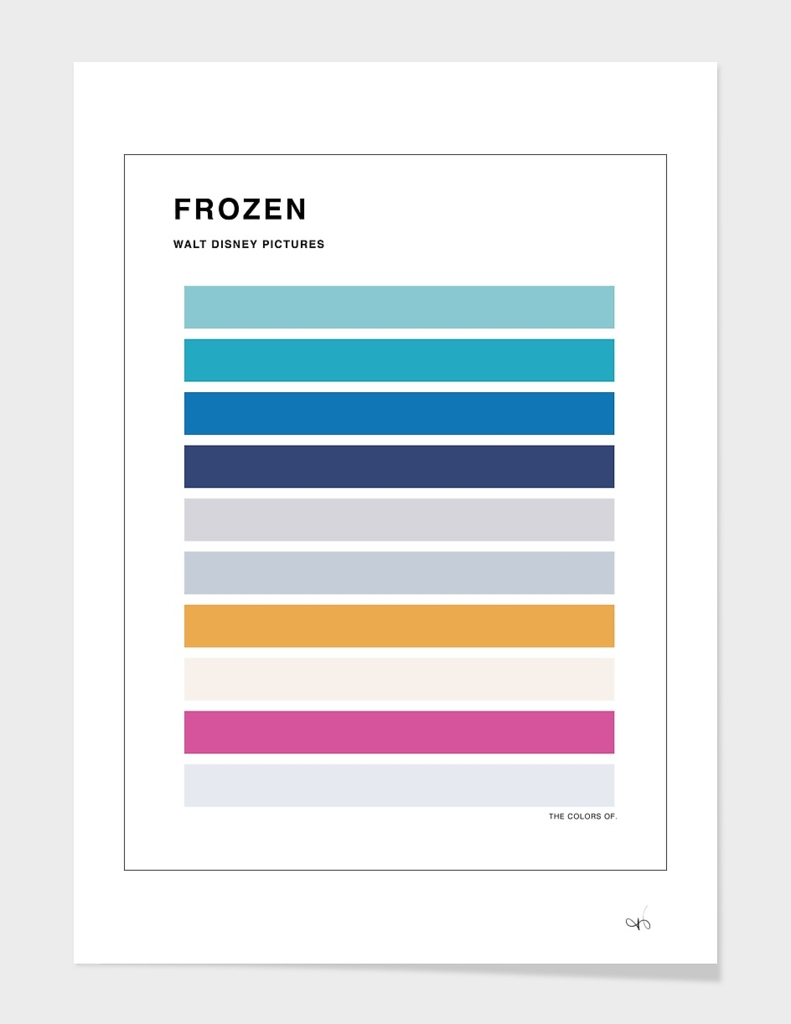 The Colors of Frozen