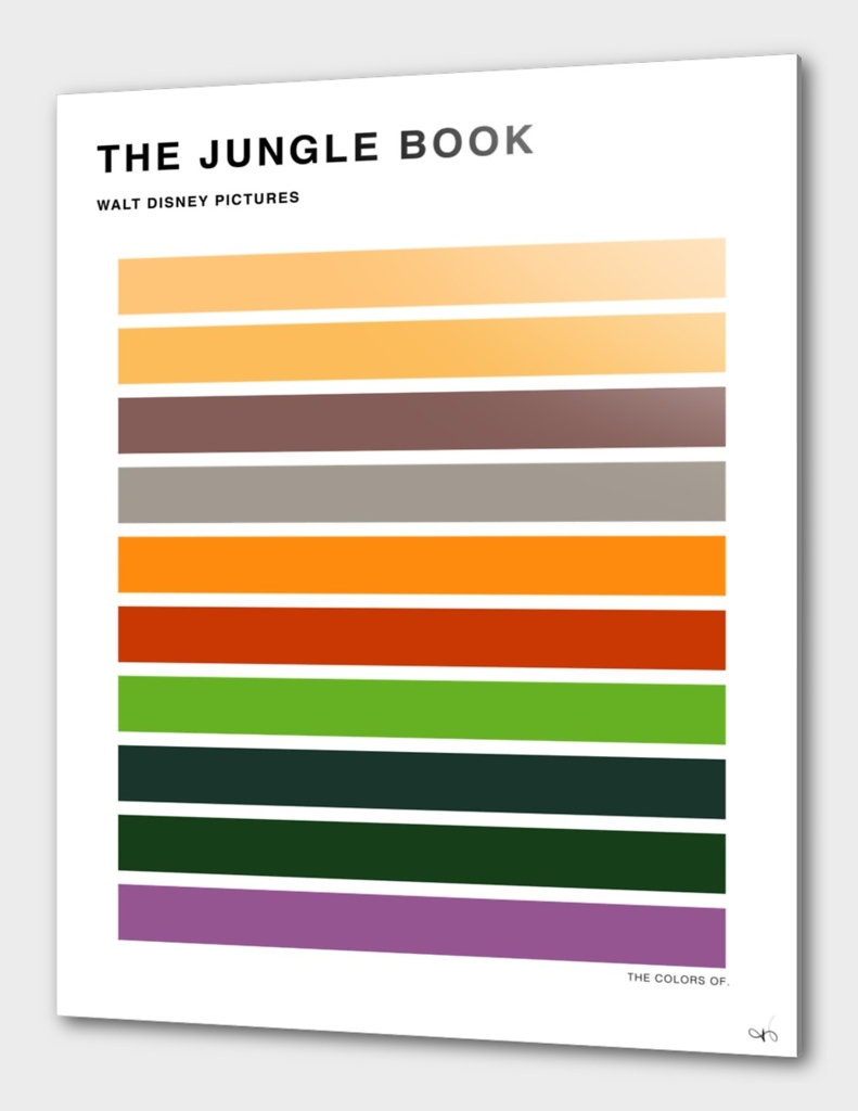 The Colors of The Jungle Book