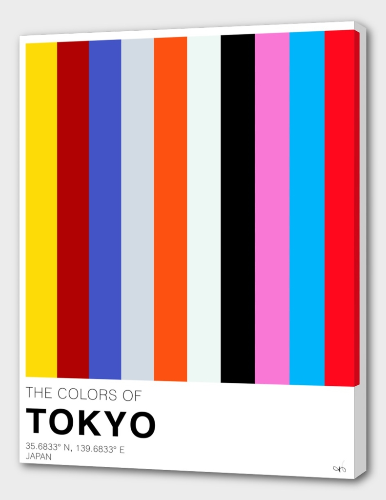 The colors of Tokyo