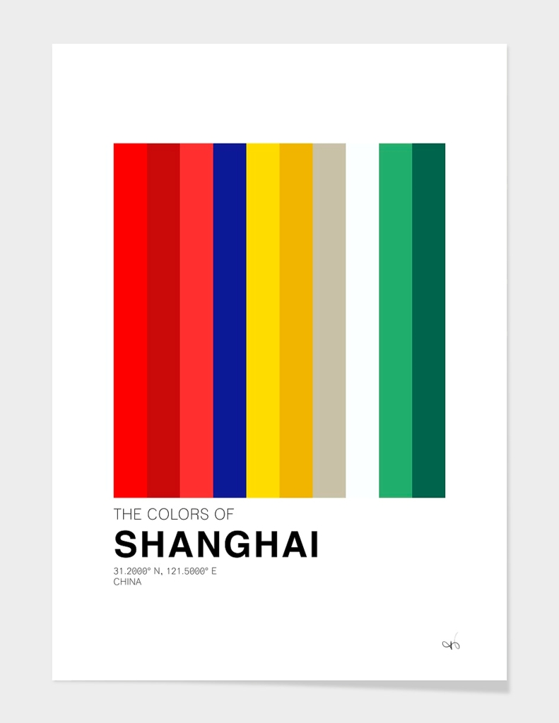 The colors of Shanghai