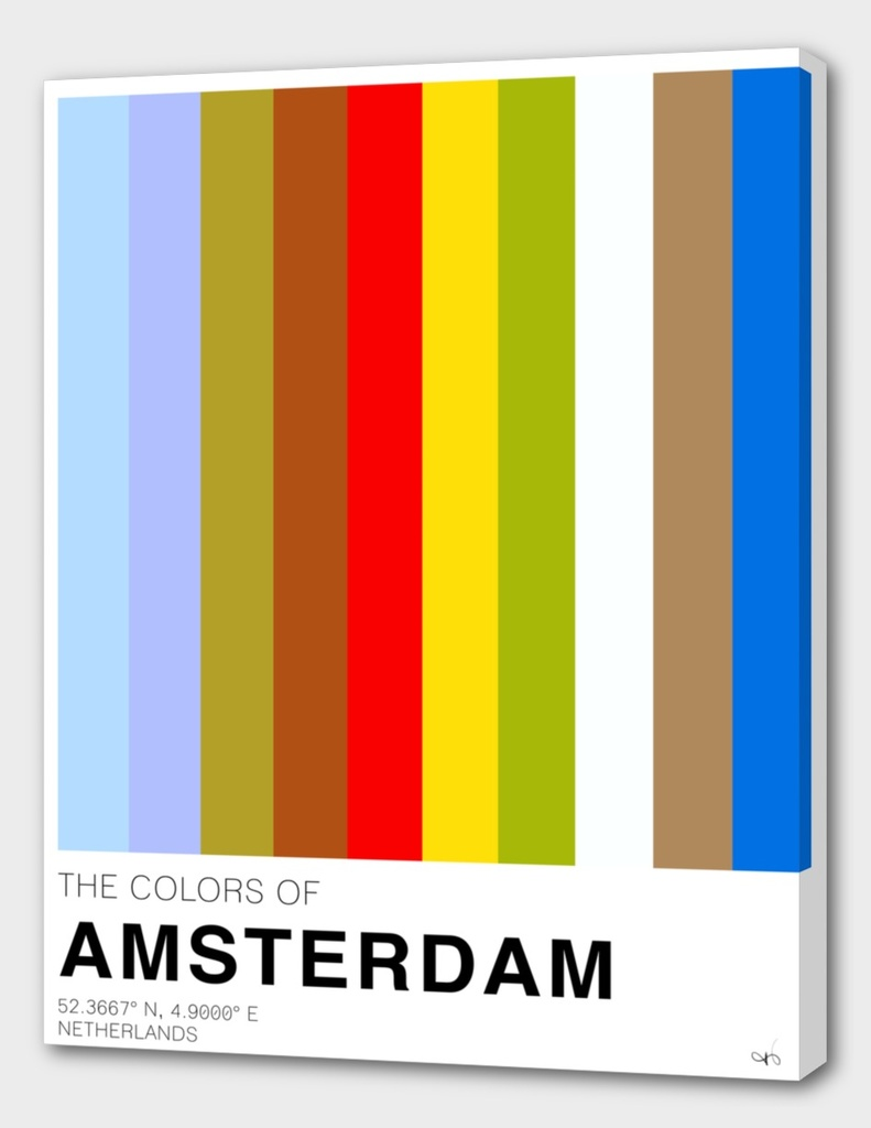 The colors of Amsterdam