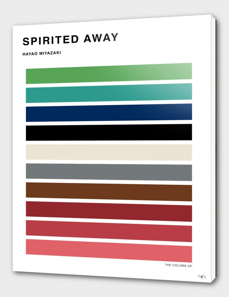 The Colors of Spirited Away