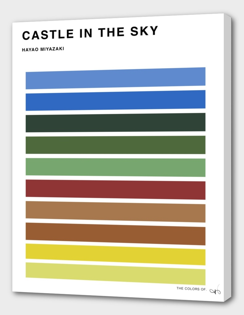 The Colors of The Castle in the Sky
