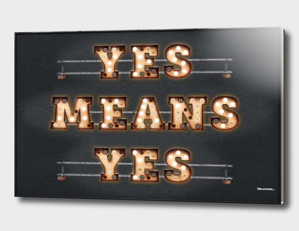 YES MEANS YES - Bulb