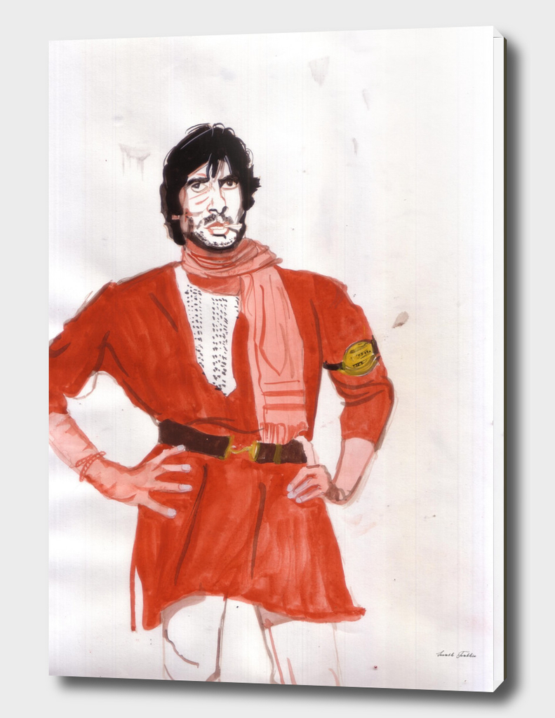 Amitabh Bachchan was convincing as the underdog in Coolie