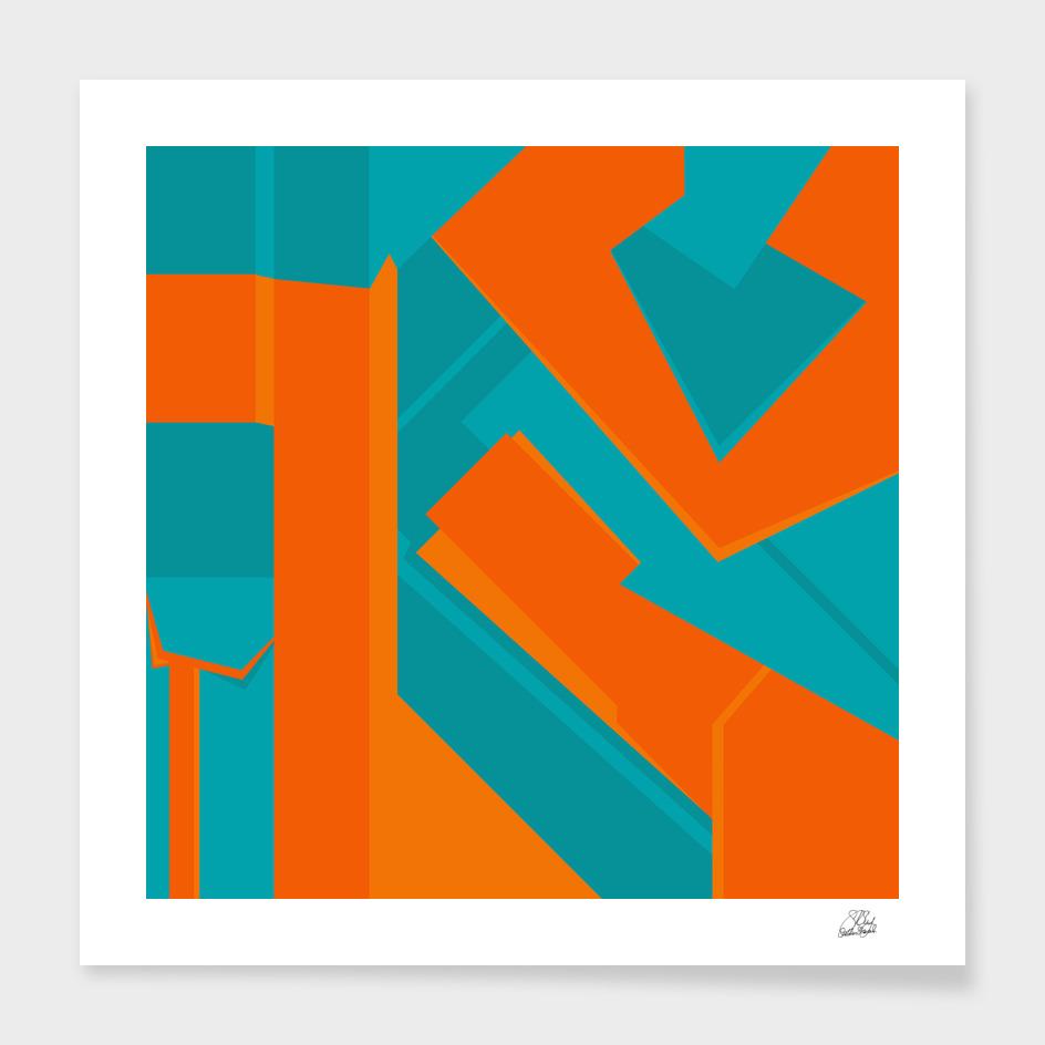 Teal & Orange