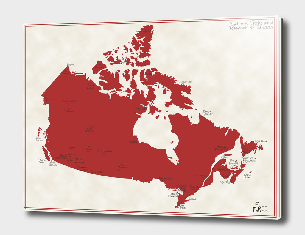 National Parks and Reservoirs of Canada