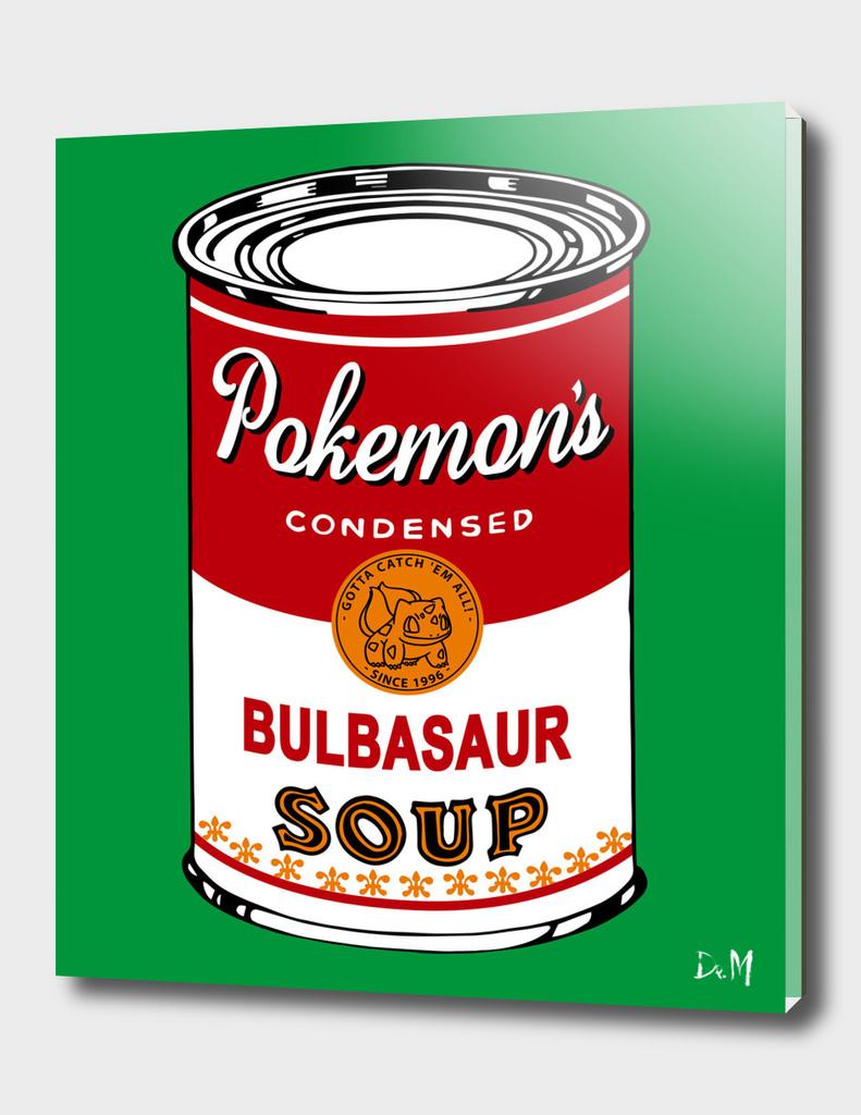 Pop soup can Grass edition