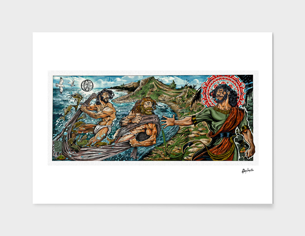 Fishers of men Comic Icon art