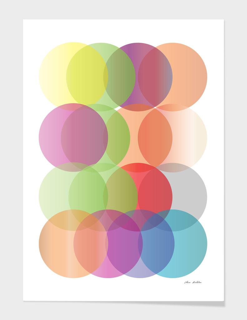 gradient circles