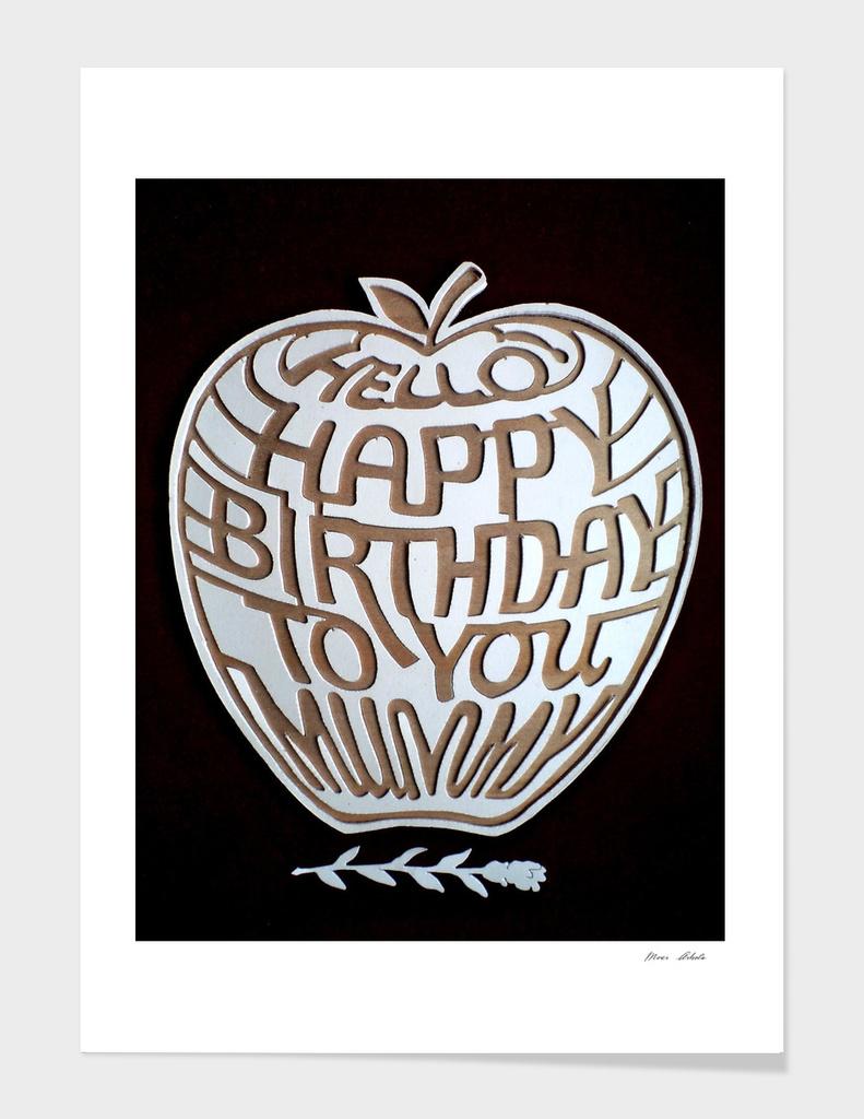 hapi birthday to mum