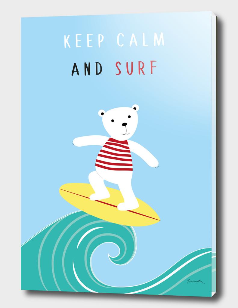 Keep calm and surf