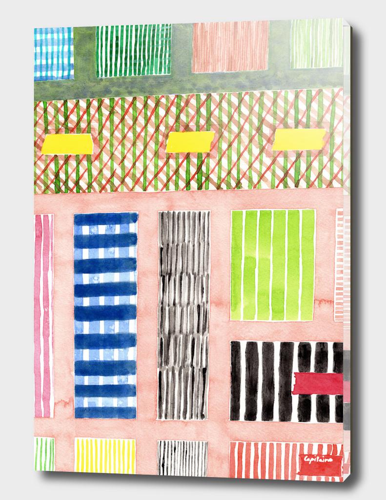 Friendly Pattern Mix On Pink