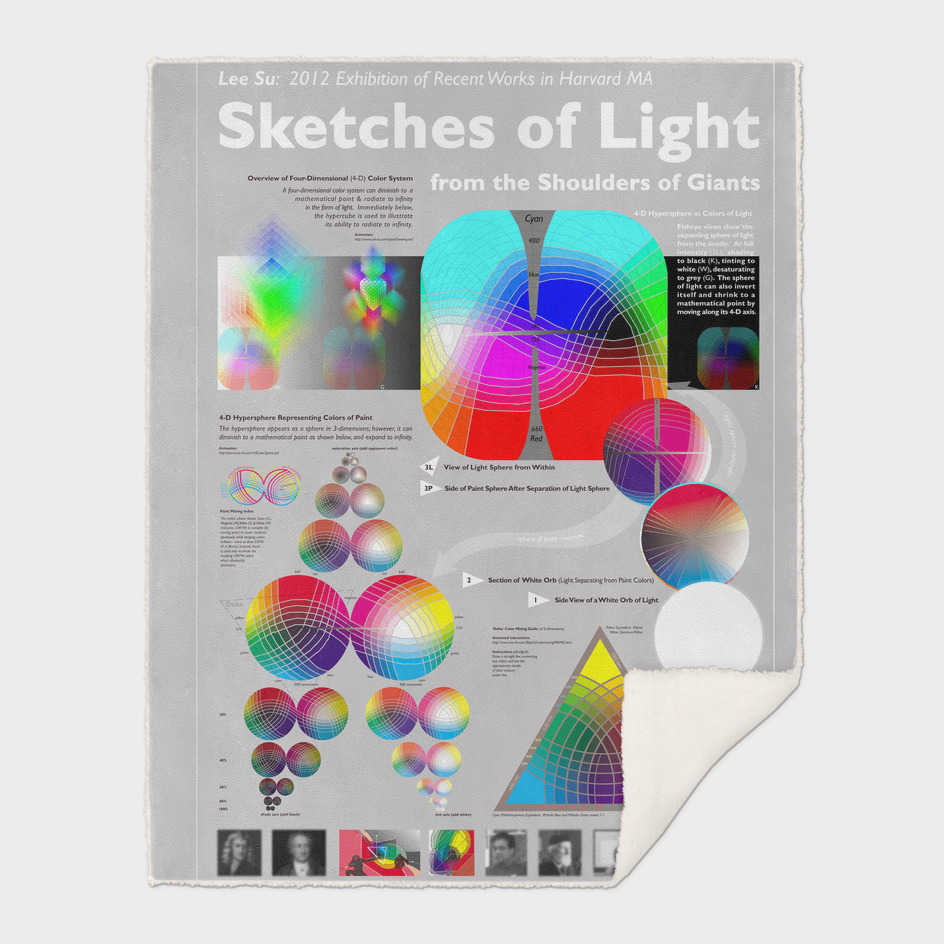 Sketches of Light from the Shoulders of Giants