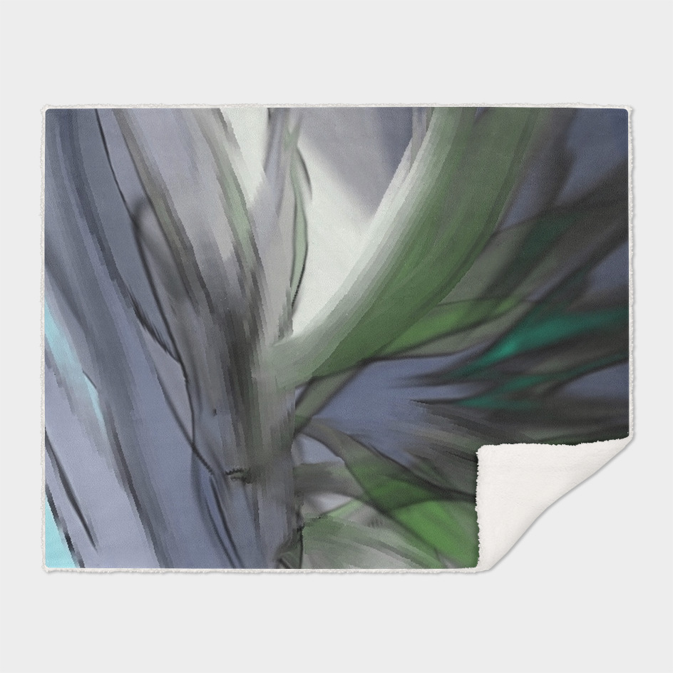 Flowy Abstract Flowers